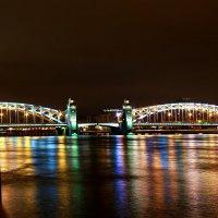 Большеохтинский мост  Санкт-Петербург :: Александр