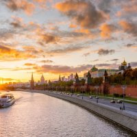 Панорамный вид на Московский кремль :: Игорь Соболев