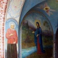 Святые врата Пюхтицкого Успенского ставропигиального женского монастыря :: Елена Павлова (Смолова)