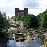 Старое природное русло Наровы со знаменитыми водопадами :: Елена Павлова (Смолова)
