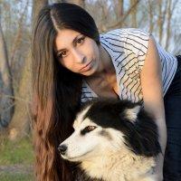 Лида и Тесси :: Надежда Меркулова