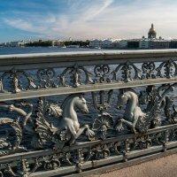 Ограда Благовещенского (Лейтенанта Шмидта) моста :: Елена Кириллова