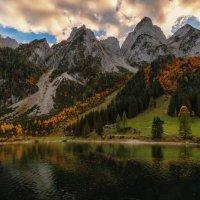 Вечер в Альпах :: Владимир Колесников