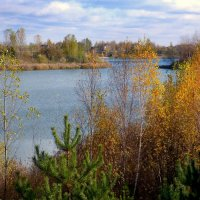 осень на озере :: Александр Прокудин