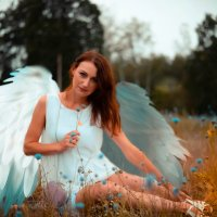 Ангел с сумочкой :: Юлия Шевцова
