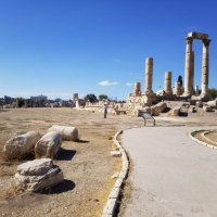 Цитадель города Аммана.Храм Геркулеса.166г.н.э. :: Жанна Викторовна