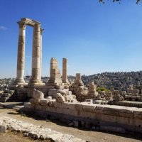 Цитадель города Аммана.Храм Геркулеса. :: Жанна Викторовна