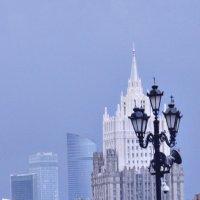 Москва-сити :: Григорий Кучушев