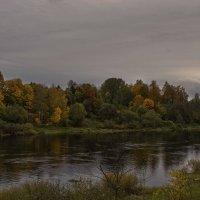 Вечер над Западной Двиной. :: Елена Струкова