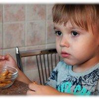 Илюшка-любитель печенёшек. :: Anatol Livtsov