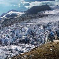 у ледника :: Elena Wymann