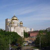 Церковь в Новогиреево :: Анна Воробьева