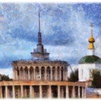 Если архитектура застывшая музыка, то наши здания — собачий вальс..... :: Tatiana Markova