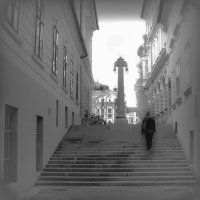 На лестнице :: Alla Shapochnik
