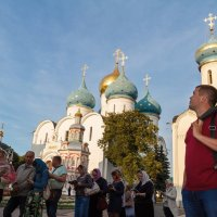 На площади лавры :: Павел Белоус