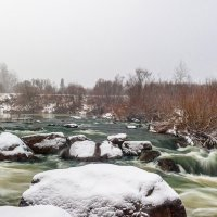Снегопад на Барзасе :: Виктор