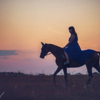 пурпурный закат :: Кристина Пролыгина