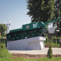 ИСУ-152. Памятник танкистам-освободителям Мглина. Брянская область :: MILAV V