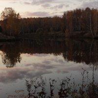 Вечер.Озеро.Закат :: Ольга Анянова