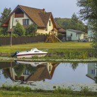 Умывался дом в реке :: Сергей Цветков