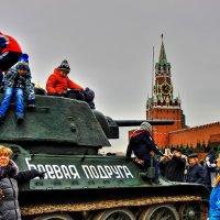 Красная площадь 7 ноября 2017 г :: олег свирский