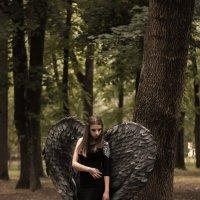Черный ангел :: Людмила Каспирова