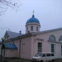 Казачья церковь, которая была построена в начале 90-х годов 20 века. (Санкт-Петербург). :: Светлана Калмыкова