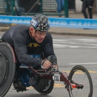 Нью-Йорксий марафон 2017. Паралимпийцы 11 :: Олег Чемоданов