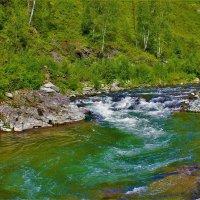 Горная речка Берёзовая :: Сергей Чиняев