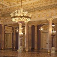 Уголок Екатерининского зала дворца. Царицыно. Corner of the Catherine Palace hall. Tsaritsyno. :: Юрий Воронов