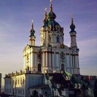 Осень. Андреевская  церковь :: Владимир Бровко
