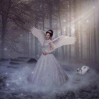 Девушка - лебедь :: Наталья Владимировна Сидорова