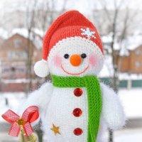 Снеговик :: Юлия Кузнецова