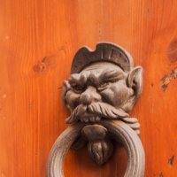 Сиена. Дверная ручка. :: Надежда Лаптева