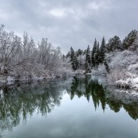 Остывающая река :: Сергей Добрыднев