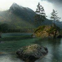 Рассвет на озере Хинтерзее. :: Максим Гуревич