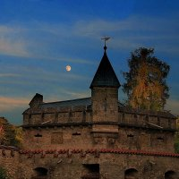 Почти полночная луна... :: Владимир