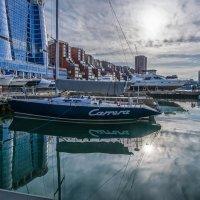 Яхты на закате :: Эдуард Куклин