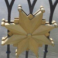 Царицыно. Золотая звезда на мосту :: Дмитрий Никитин
