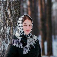 Татьяна  в зимнем лесу :: Роман