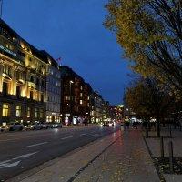 Вечерний Гамбург :: Nina Yudicheva