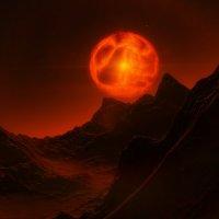 Инопланетный Пейзаж :: КОСМИЧЕСКИЙ ФРЕГАТ