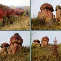 """Природный памятник """"Красные грибы"""" в Кисловодском курортном парке :: Нина Бутко"""