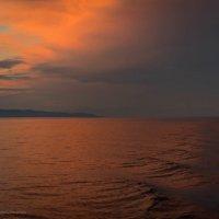 Шелковый закат.. :: Ирина Малышева