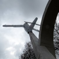 Самолёт МиГ-17 :: Павел Галактионов