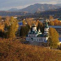 Церковь в с. Чарышское :: Кристина Воробьева