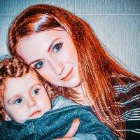 Мама и дочь :: Юлия Шевцова