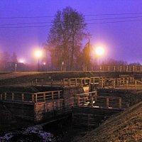 Туманный вечер :: Сергей Кочнев