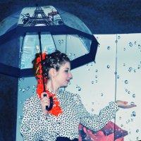 Мари и дождь! :: Роза Бара