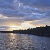 Закат над Свирью :: Nikolay Monahov